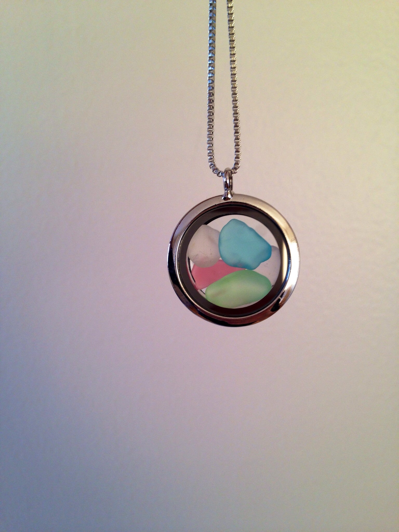Lucky Charms  - Sea Glass Necklace