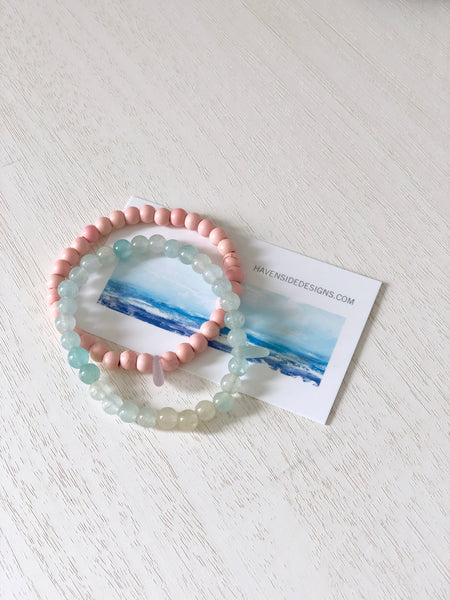Island Paradise Sea Glass Bracelet