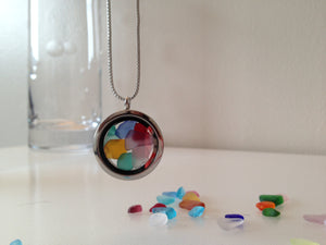 Rockit! Candy Seaglass Necklace