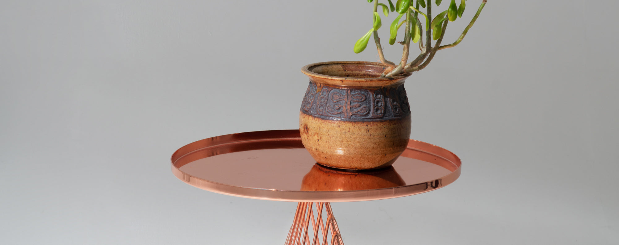 THE COPPER CONO TABLE<br />IS ON IT'S WAY!