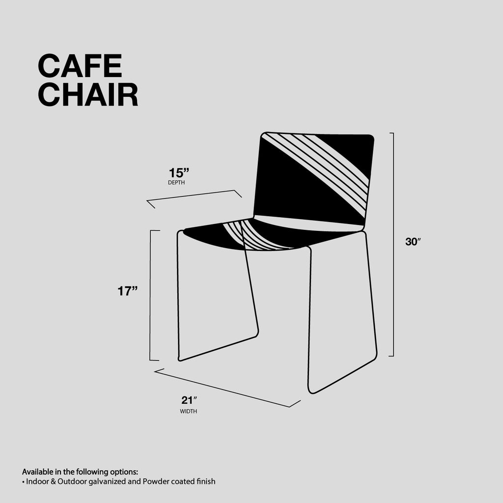 cafe wire dining chair bend goods bend store