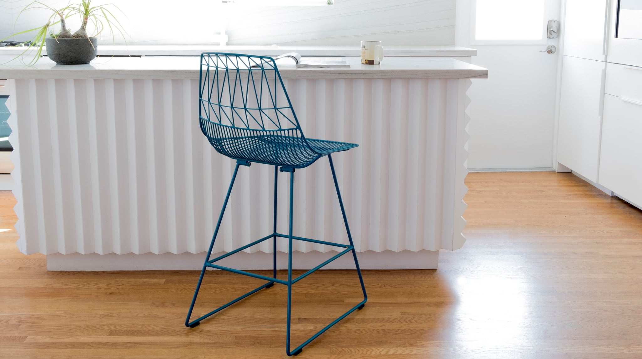 Lucy Counter Wire Stool Bend Goods Bend Store