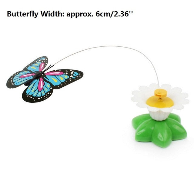 Electronic Rotating Butterfly