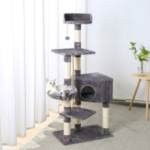 Comfy Kitty Tree Condos