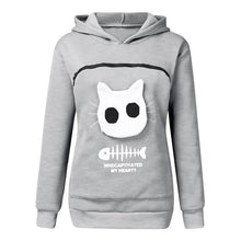 Load image into Gallery viewer, Cat Lover Kangaroo Hoodie