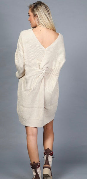 Oatmeal Sweater Dress