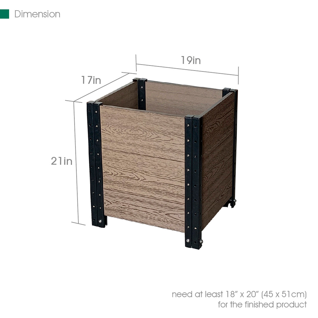 "17"" L x 19"" W x 21"" H Planter Box Cornerstone"