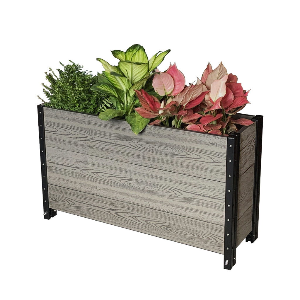 "E213612/G   36"" L x 12"" W x 21"" H Elevated Deep Trough Planter Box / Elevated Garden Bed"