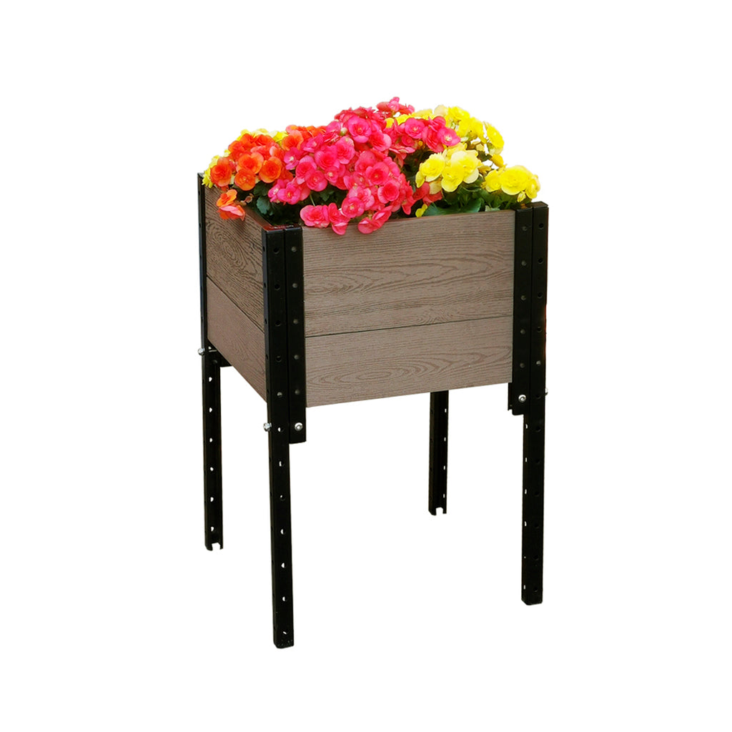"E281719/G 17"" L x 19"" W x 28"" H Elevated Planter Box"