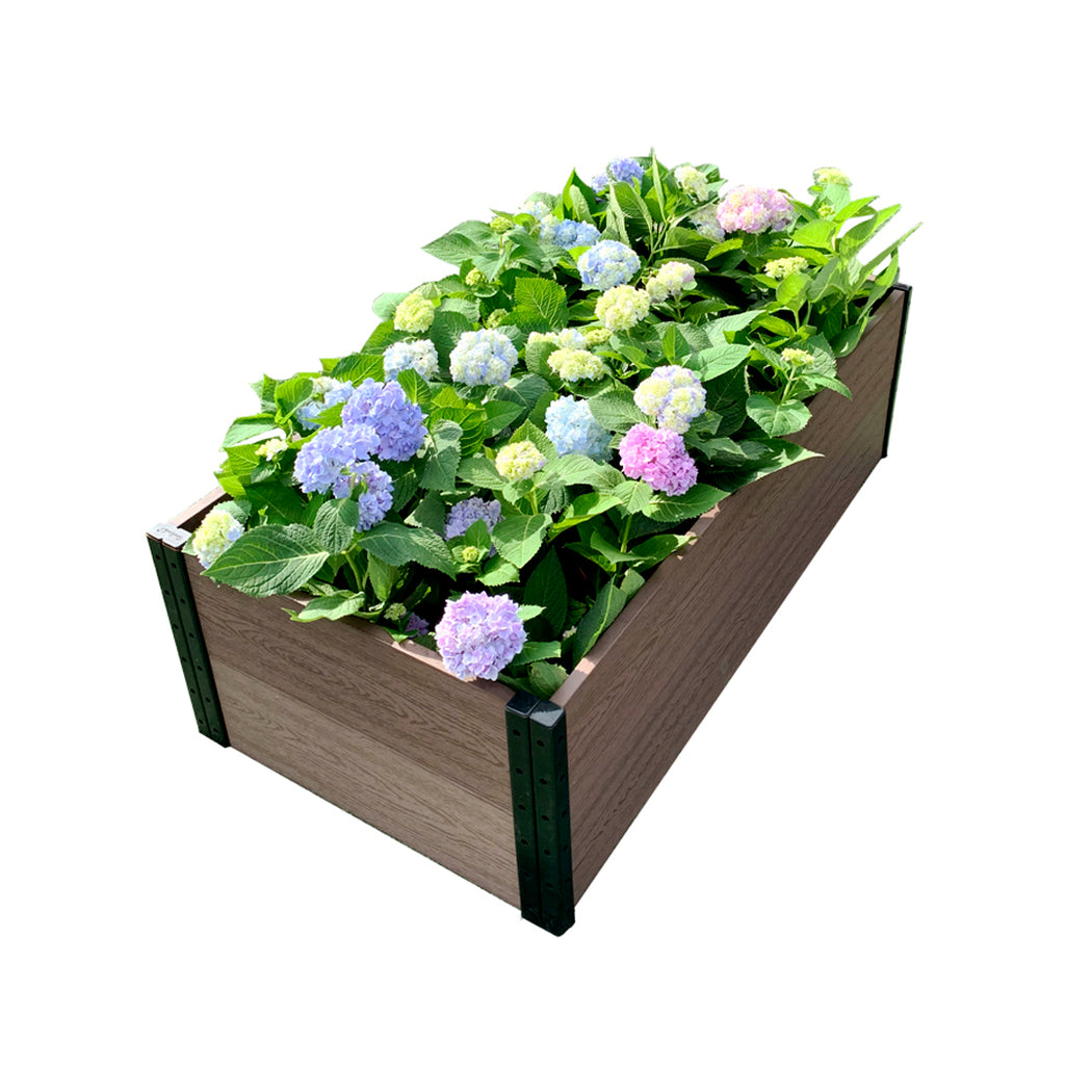 45 in. (W) x 24 in. (D) x 14 in. (H) Premium Deckside Garden Bed