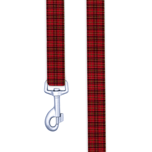 Holiday Tartan Dog Leash