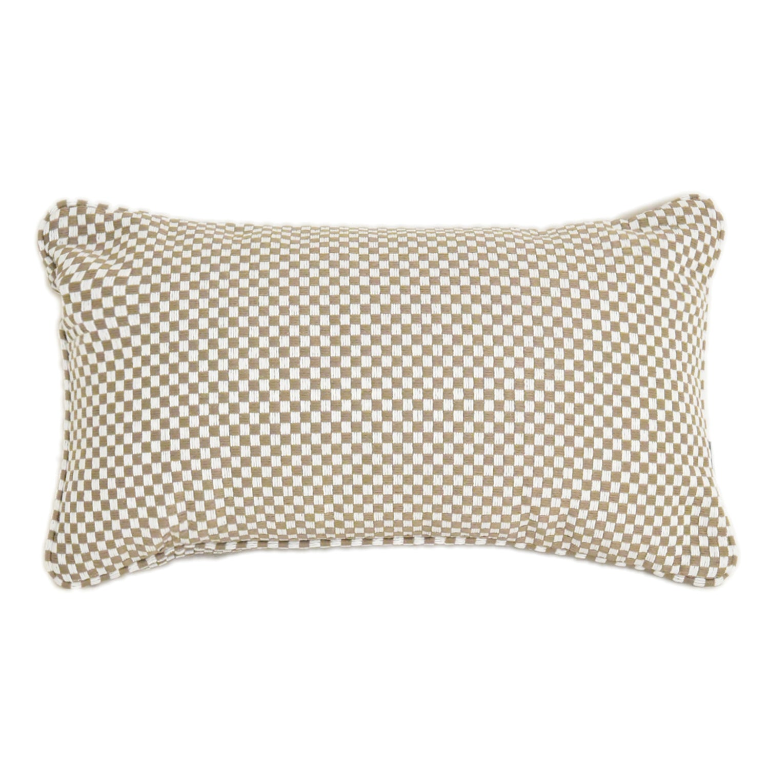 Caribbean Check Scatter Cushion