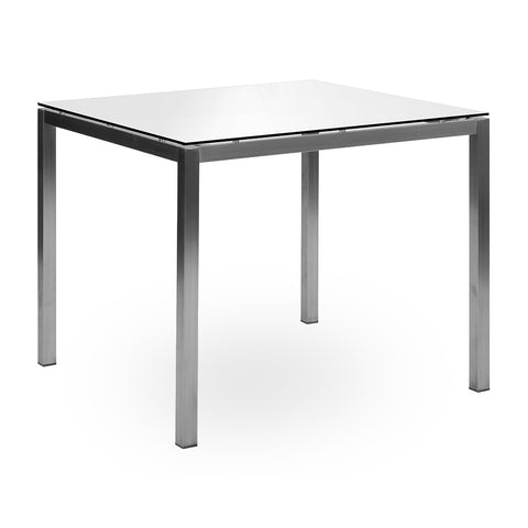 Lucerne Dining Table - White HPL