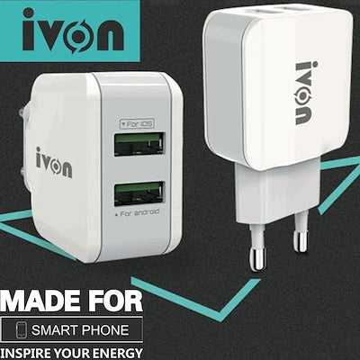Ivon Dual USB Charger
