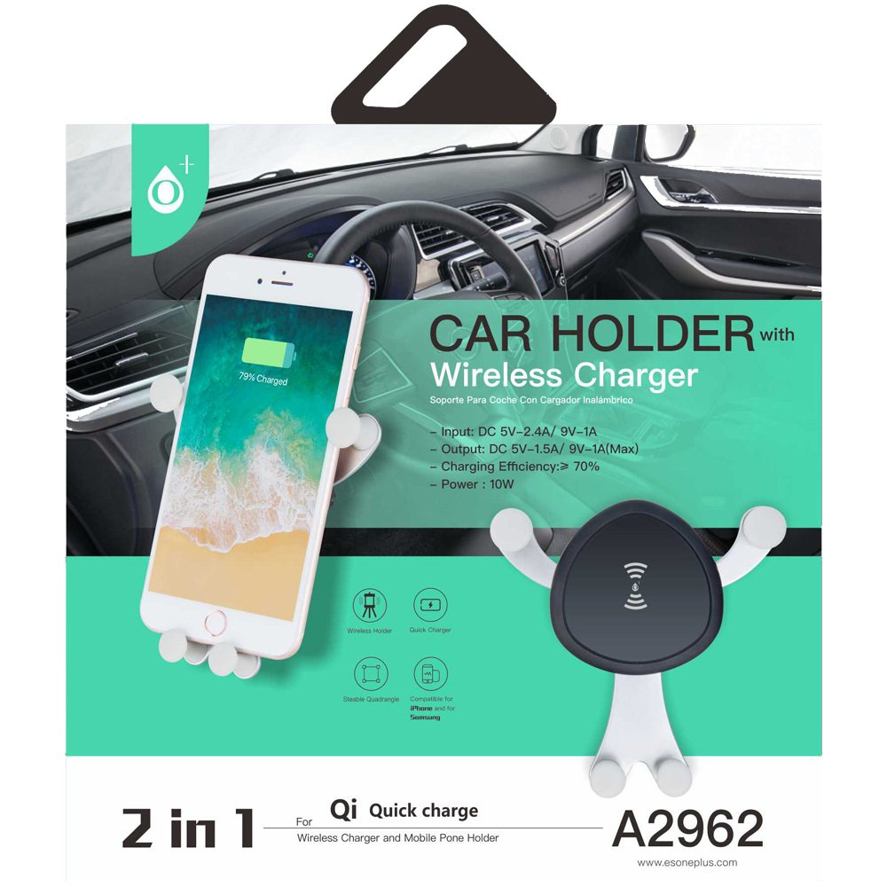 Car holder- Wireless Charger