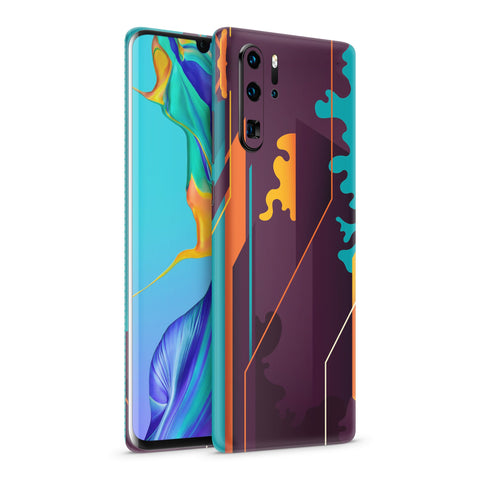 Skin Abstract V1 para Equipos Huawei