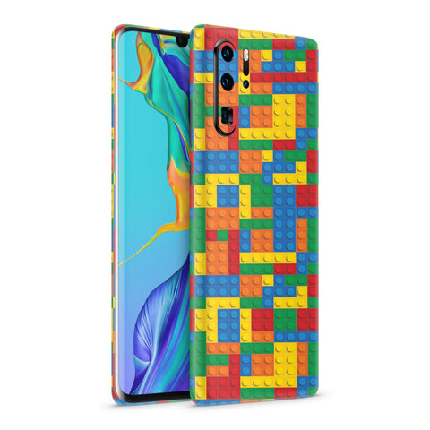 Skin Bloques Colores para Equipos Huawei