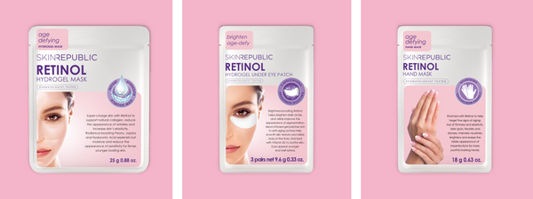 Retinol Face Mask and Eye Patches - The Skin Republic
