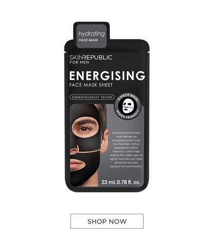 Energising Face Mask Sheet for Men Online - Skin Republic