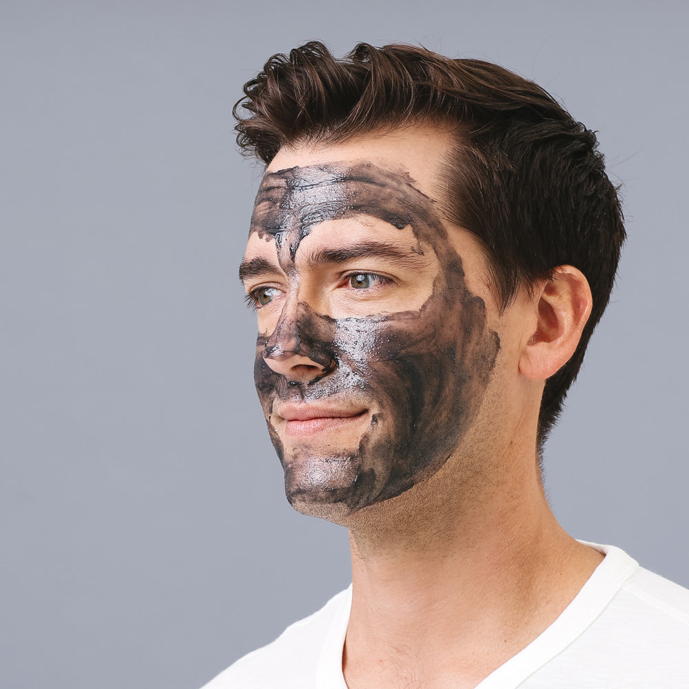 Skin Republic for Men Charcoal Scrub + Charcoal