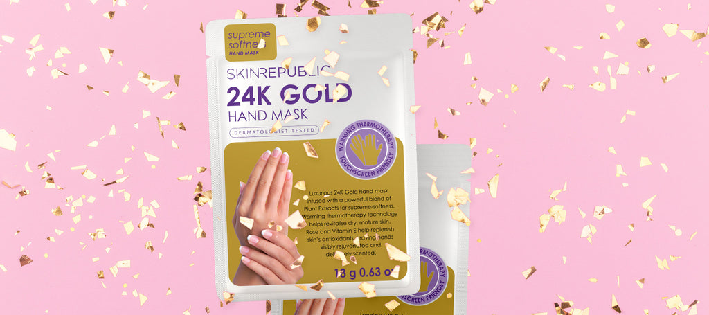 The six best hand masks –  24k Gold Hand Masks - Skin Republic