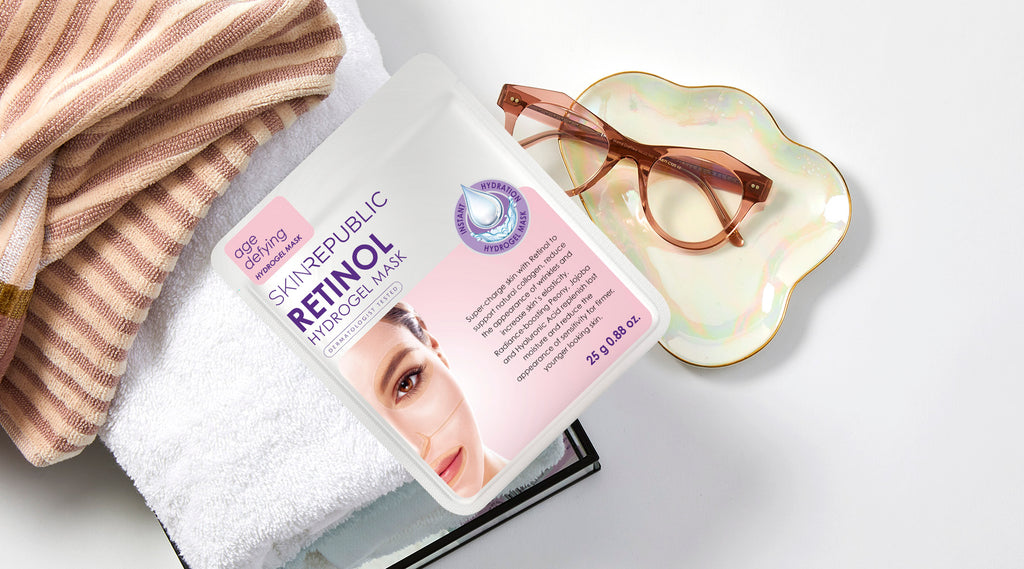 Skin Republic Retinol Hydrogel Face Mask Sheet Online - Korean Skin Care