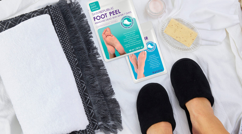 Skin Republic Foot Peel At Home Spa Treatment Online - Korean Skin Care