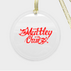 Muttley Chue Ornament - Glass (Round)