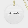 Muttallicka Ornament - Glass (Round)