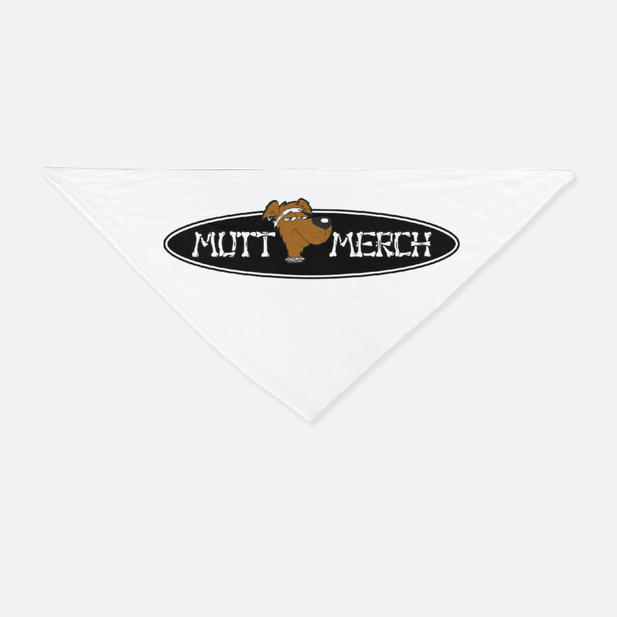 Mutt Merch Pet Bandana