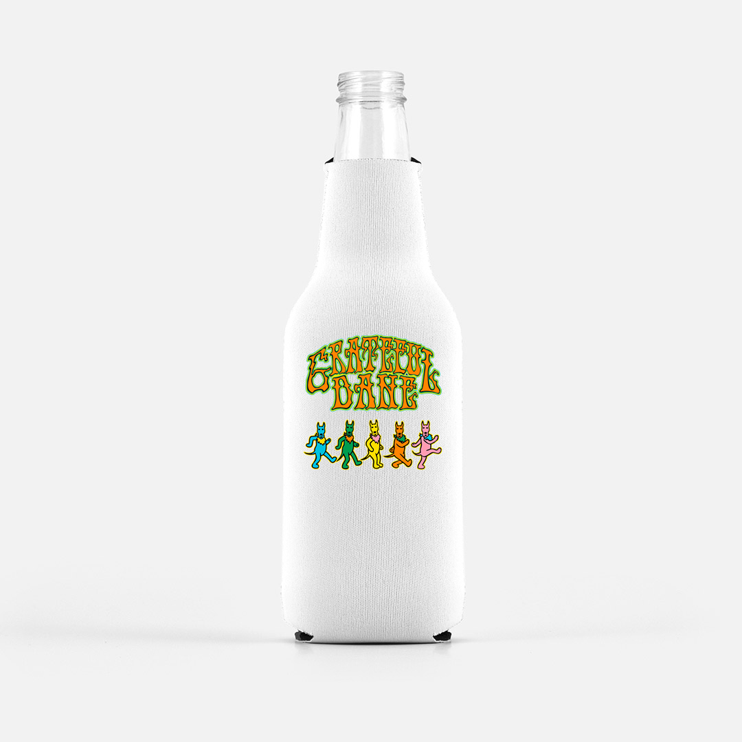 Grateful Dane Bottle Wrap