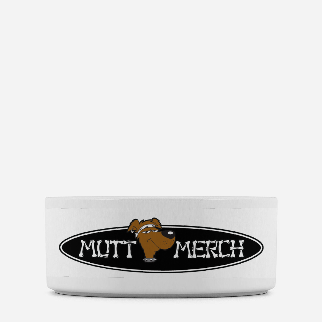 Mutt Merch Pet Bowl