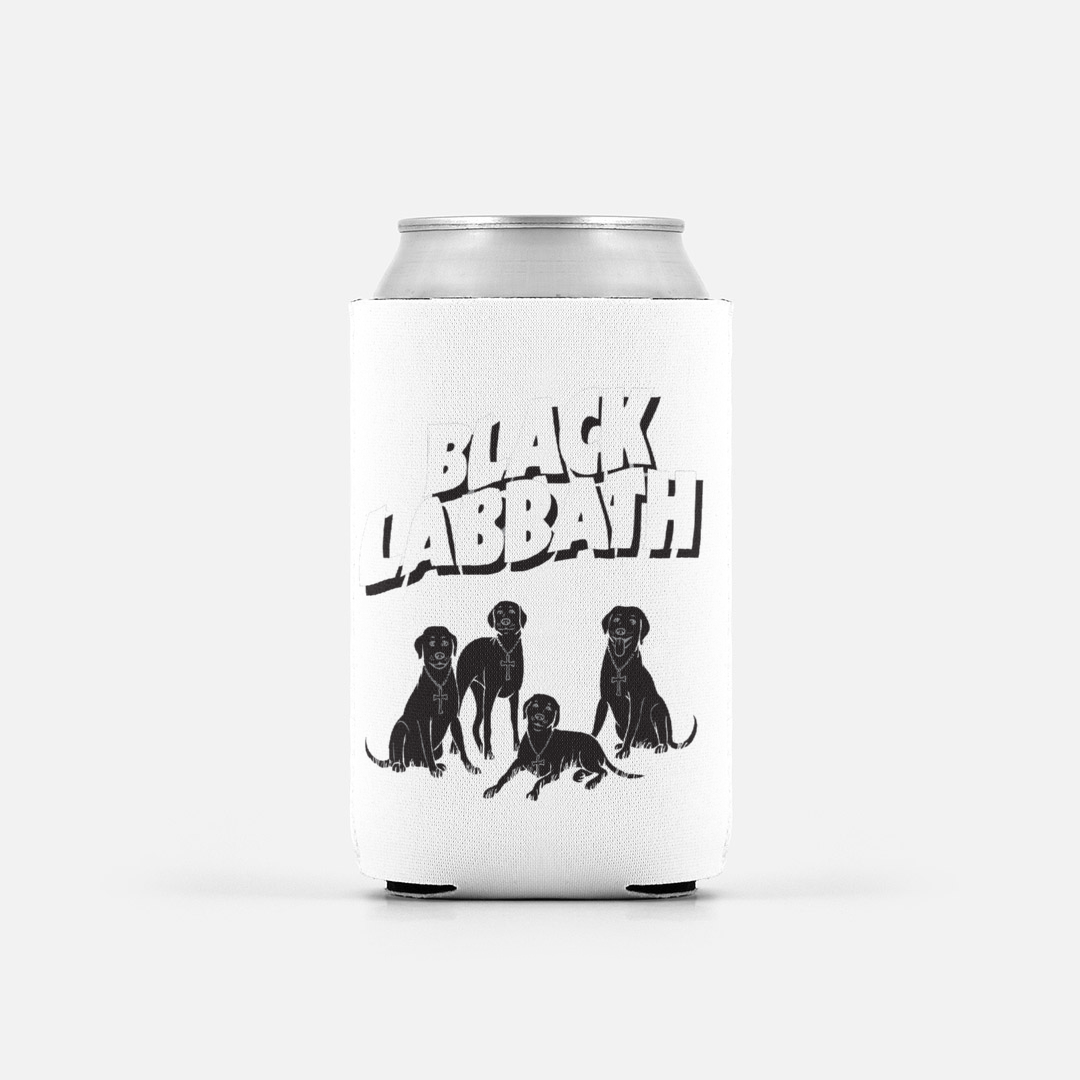 Black Labbath Can Cooler