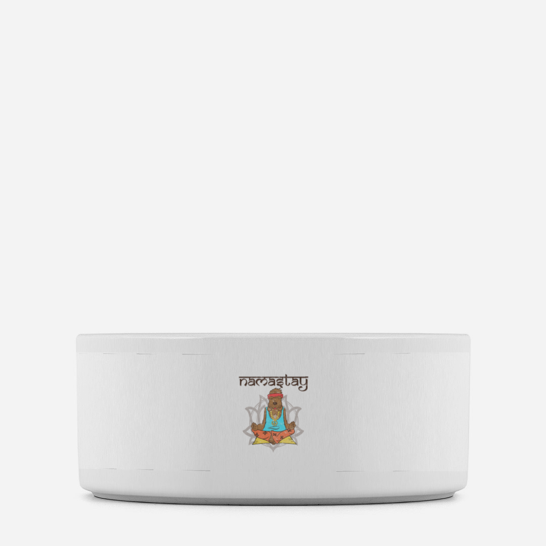 Namastey Dog Pet Bowl