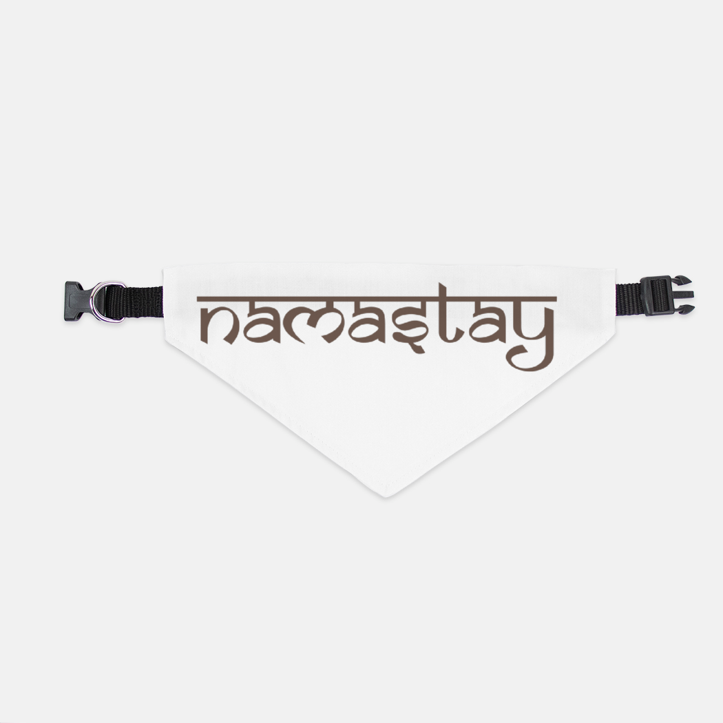 Namastay Collar Pet Bandana (LG & XL)