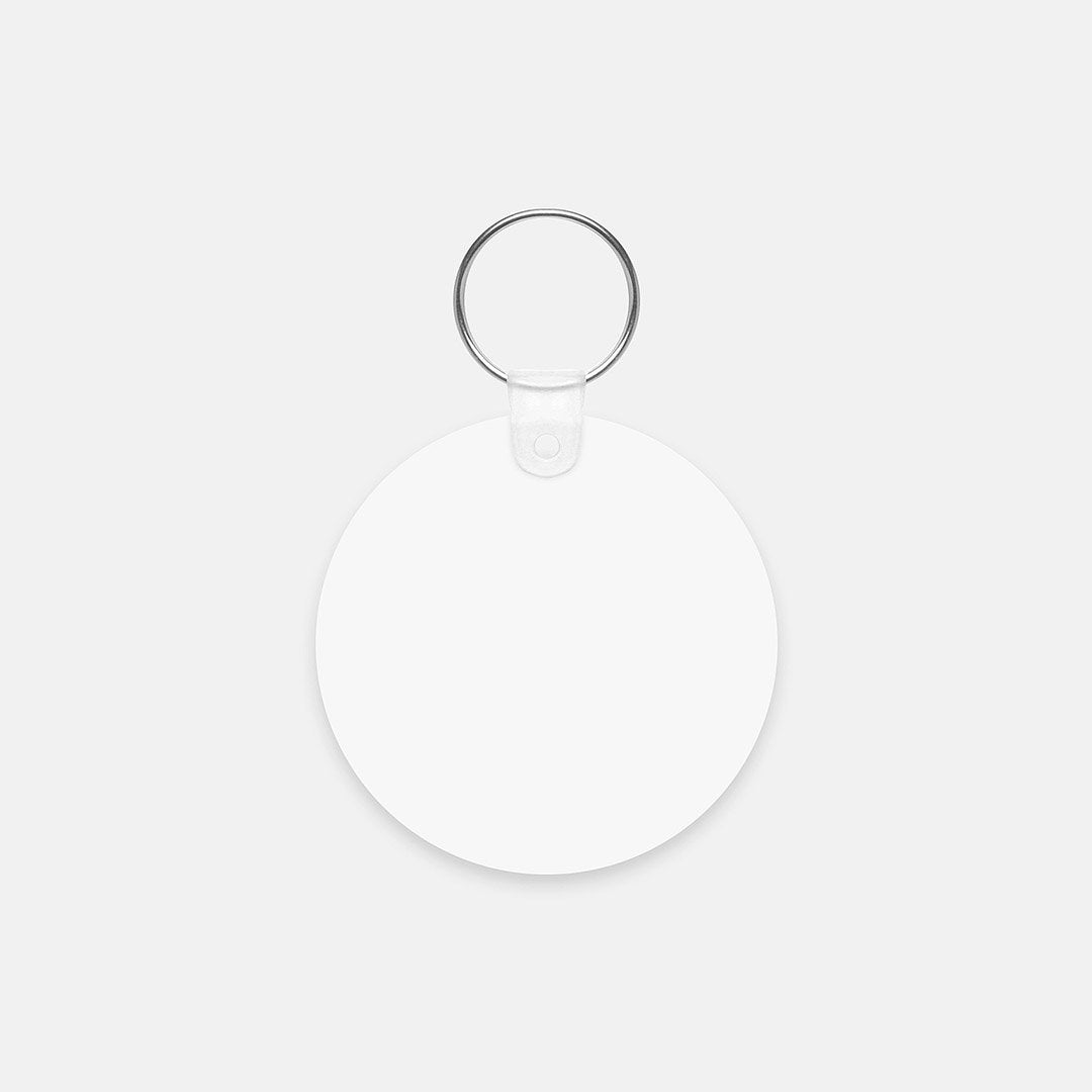 Ruff Key Chain (Round)