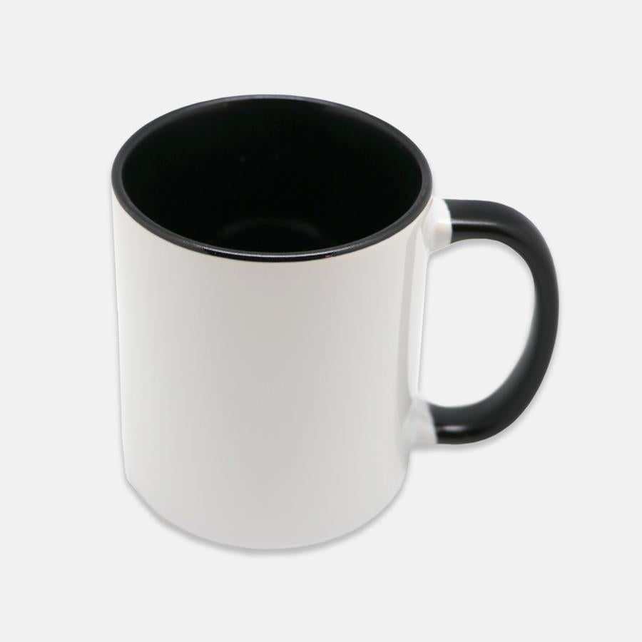 Namastay Mug 11 oz. (Black + White)