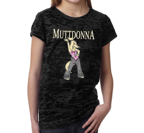 Muttdonna Girls' T-Shirt