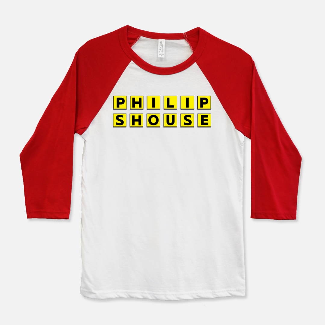 Philip Shouse Bella Canvas Unisex Baseball T-Shirt