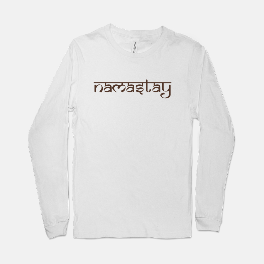 Namastey Bella Canvas Unisex Jersey Long Sleeve Tee 3501