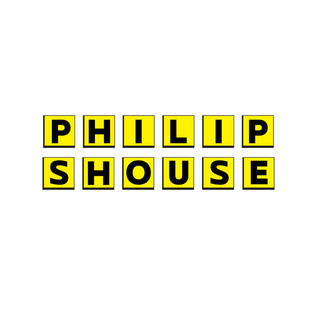 "Philip Shouse Kiss Cut Stickers - 4"" x 4"""