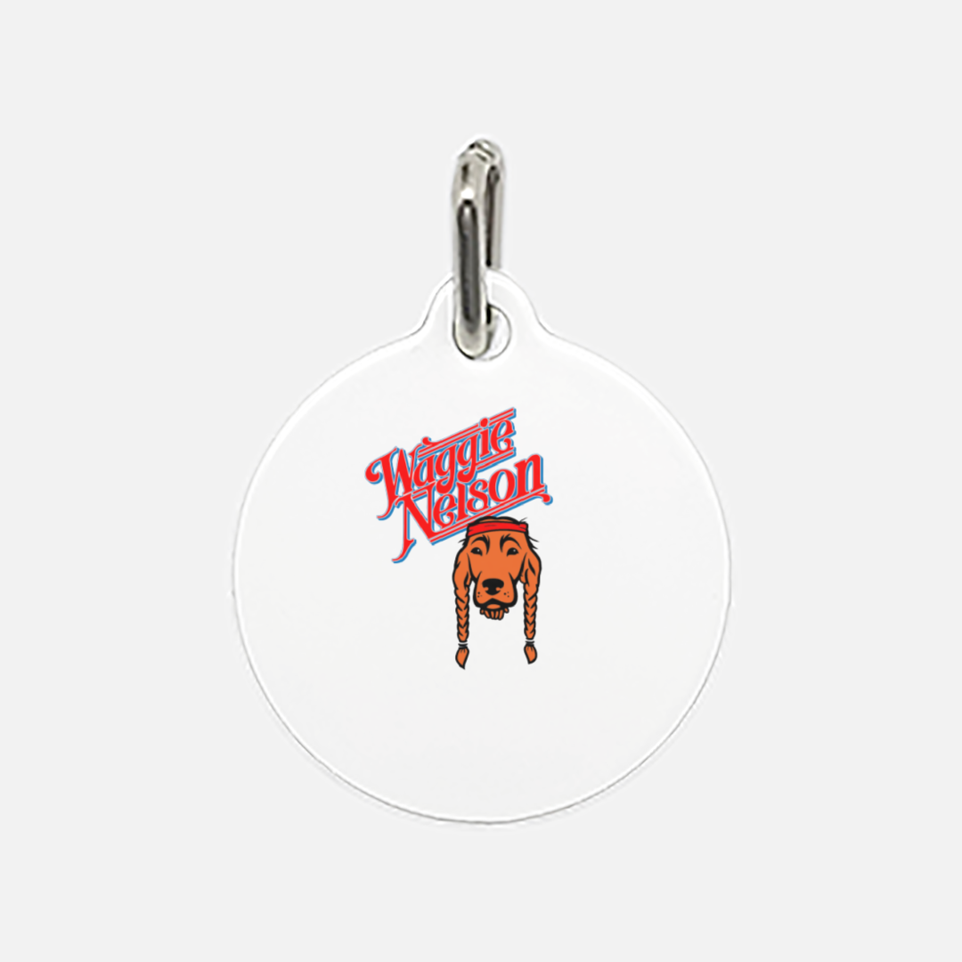 Waggie Nelson Pet Tag