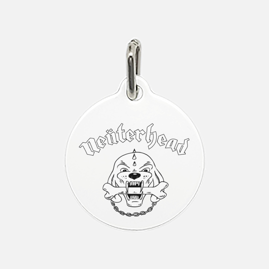NeuterHead Pet Tag