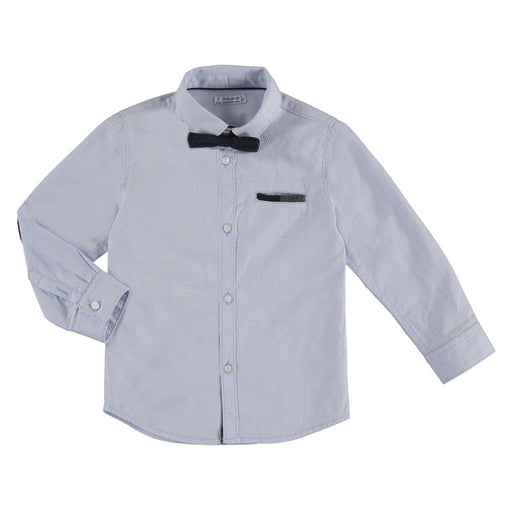 Mayoral Toddler Long Sleeve Lightblue Shirt