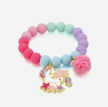 Girl Nation Charming Whimsy Magical Unicorn Bracelet