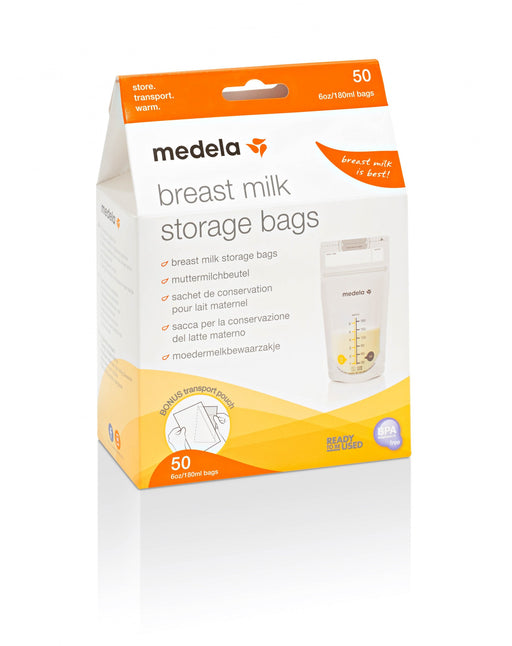 Medela 6oz Breast Milk Storage Bags 50Pk