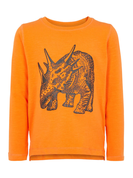 Name It Boys Norman Long Sleeve Orange Top