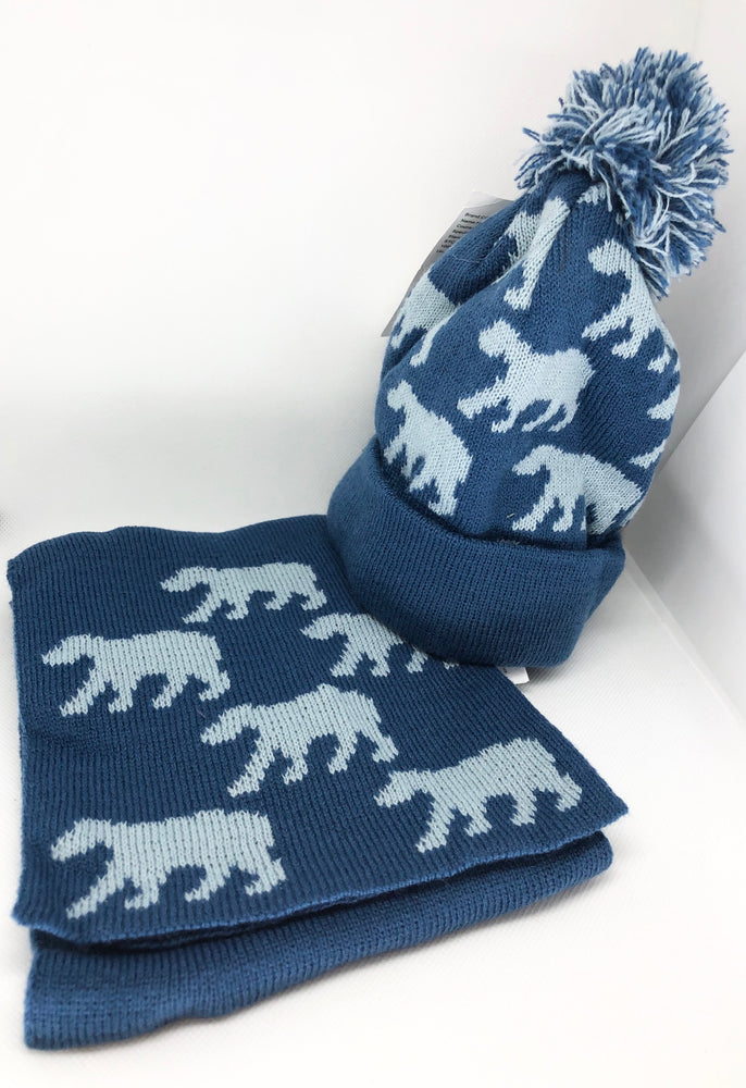 Polar Bear Hat & Scarf Set