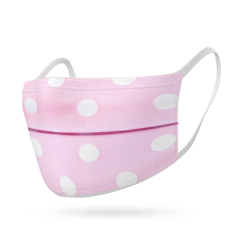 Kushies Pink Dots Kids Mask