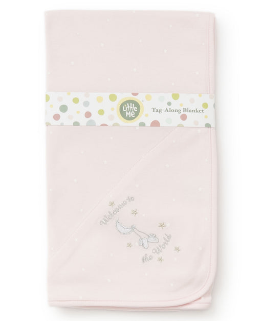 Little Me girls wttw blanket